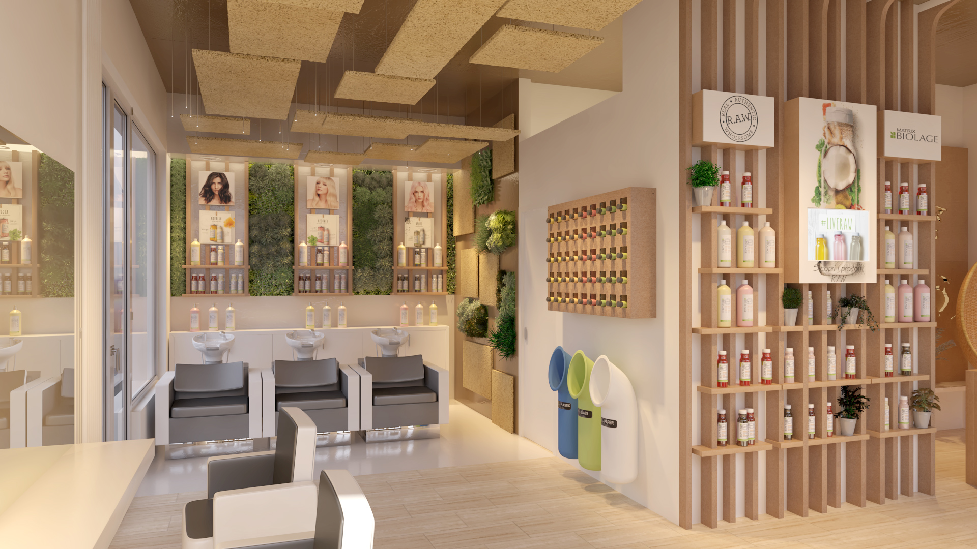 biolage raw popup store milano