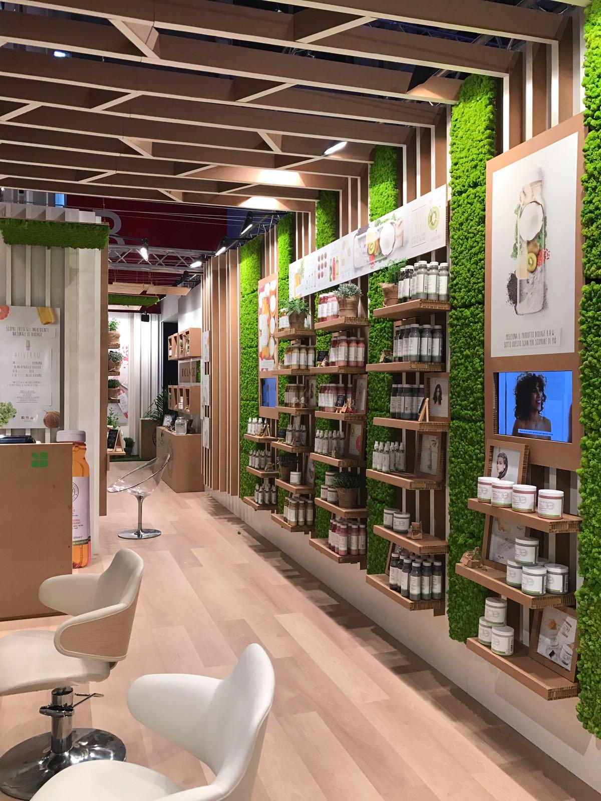 biolage raw popup store milano